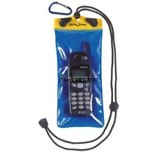 "Kwik Tek Dry Pak Cell Phone/Camera/GPS  Case 4""x 8"" with Lanyard and Belt Hook"
