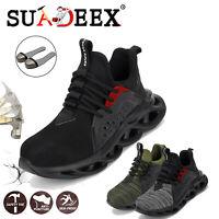 Scarpe antinfortunistica Uomo S3 da lavoro sneakers ginnastica leggere running
