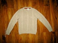 Norse Project, Olaf cable knit crew neck jumper 80% wool size S