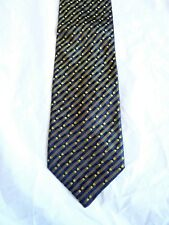 Kenzo Homme NEW 100% silk tie Patterned Woven Made in Italy Guaranteed authentic