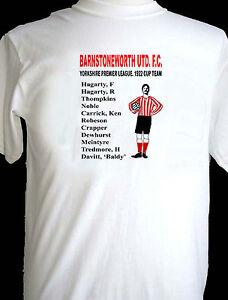 Barnstoneworth United 1922 Yorkshire League Cup Winners t-shirt. Ripping Yarns.
