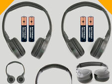 2 Wireless DVD Headsets for Hummer Vehicles : New Headphones - Made for Kids!