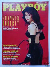 Playboy  D 3/1994, Shannen Doherty, Josephine Baker, Henry Maske, Janis Joplin