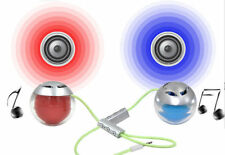 10x BLUETOOTH WIRELESS MINI PORTABLE TWIN SPEAKER  FOR MOBILE PHONE IPHONE IPOD