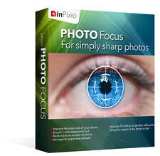 Inpixio Photo Focus 2019 - Make Sharp Clear Photos - Windows - Instant Download