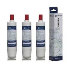 3x 481281719155 SBS003 ORIGINAL BAUKNECHT Filtre à eau pour réfrigérateur