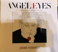 Akimi Yoshida ANGEL EYES Banana Fish Illustrations Art Book Renewal Edition