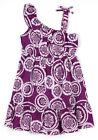 Neuf Filles Violet Coton Robe Été Floral de 6-7 to 12-13 Ans