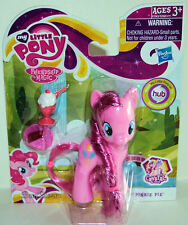 "NEW 2012 3 1/2"" My Little PONY PINKIE PIE Crystal Empire accessories FREE SHIP"