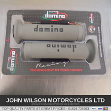 Aprilia RS50 RS4 50 RS125 RS4 125 RS250 Domino Grey Handlebar Soft Grips
