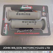Ducati Scrambler 400 800 & 1200 Diavel Domino Grey Handlebar Soft Grips
