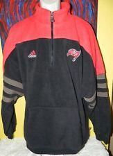 Vintage Men's Adidas NFL Pro Line Tampa Bay Buccaneers 1/2 Zip Fleece Pullover