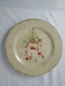 """ROSE BOUQUETS""~ 8"" SALAD STONEWARE REPLACEMENT PLATES BY CHERI BLUM - Free Ship"