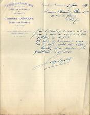14 CONDE-SUR-NOIREAU COURRIER GEORGES CAPRETZ BONNETERIE PELLERIN ELBEUF 1924