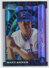 1999 Bowman Chrome International Refractor 107 Matt Burch Rookie 51/100
