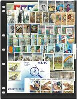Norfolk Island 58 Different Thematic Stamps & 1 Mini Sheet All MUH #2