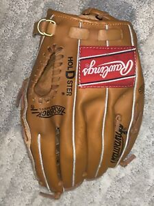 Rawlings  baseball glove.  Basket web, fastback Holdster model RBG76 .