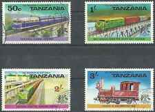Timbres Trains Tanzanie 56/9 o lot 8883