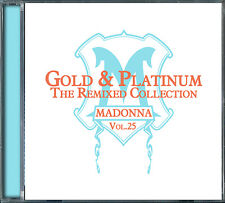 Madonna Gold & Platinum The Remixed Collection Vol.25 CD