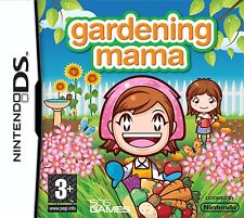 Nintendo DS NDS DSi Lite XL Game Gardening Mama NEW