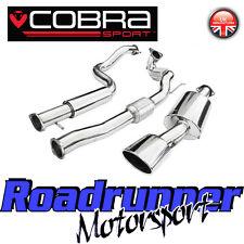 """COBRA SPORT LEON CUPRA R 3"""" Turbo Back Sistema Di Scarico Risonanza Inc SPORT CAT"""