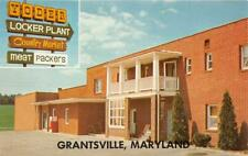 GRANTSVILLE MD 1961 Yoder Locker Plant Country Market Meat Packers VINTAGE 539