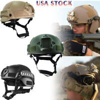 Outdoor Fast Tactical Helmet Army Airsoft Military Tactical Combat RidingHunting