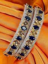Indian Diamond American Jewelry Bangles Bracelet Gold Plated Bollywood