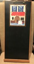 """French Inspired Cafe Design Kitchen Decor CHALKBOARD MESSAGE BOARD 24"""" x 10.5"""""""