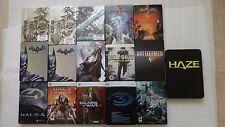 PS3 & XBOX 360 Steelbook ONLY, Batman, Halo, Dead Island, Tomb Raider (NO GAMES)