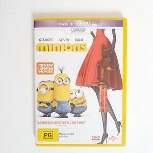 Minions DVD Movie Free Post Region 4 AUS - Kids Family Animation