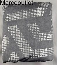 Oake Cascade Collection King Duvet Cover Gray