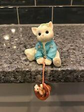 1997 Some Bunny to Love You Reg # 9C24/226 Calico Kittens Enesco No Box