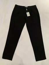 Paul And Joe Black Trousers Pants Size 40 UK12 New With Tags