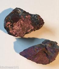 Beautiful Natural Purpurite Stone, Unpolished Purple Mineral, Crystal Healing