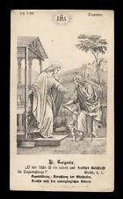 santino incisione 1800 S.GORGONIA
