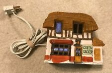 Dept. 56 Dickens' Village Green Grocer - 1984Cottage w Light Vintage Colle