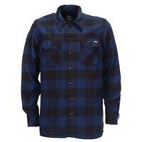 Dickies - Sacramento Karohemd Blue Holzfeller Kariert Hemden Blau Herren
