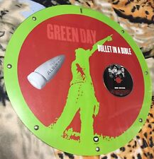 GREEN DAY - BULLET IN A BIBLE - PLATINUM ALBUM in ITALY - CIRCULAR PLEXIGLASS