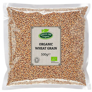 Organic Wheat Grain 500g Certified Organic
