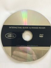 2007 RANGE ROVER INTERACTIVE DVD GUIDE
