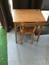 bureau et chaise enfant Baumann vintage50/60