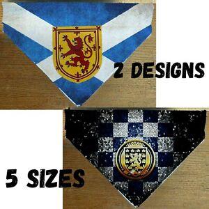 Scotland Football  Dog Cat Bandana Slide on Collar Neckerchief Scarf Handmade