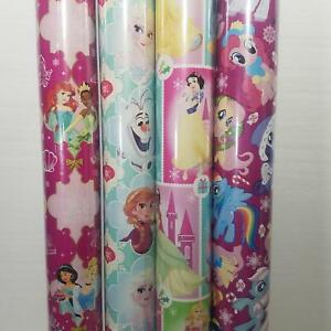 Wrapping Paper Roll Christmas 40 Sq Ft My Little Pony Gift Wrap
