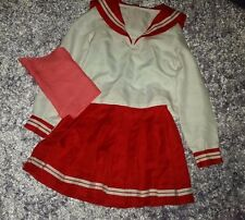 Lucky Star Winter School Uniform Anime Cosplay Size XS-S Konata Seifuku Sailor