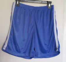 "Girls Basketball Athletic Shorts Periwinkle Mesh 6"" Inseam Size Xl C9 Champion"