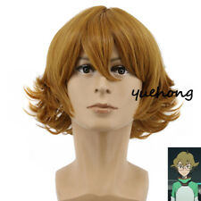 Voltron: Defender of the Universe Pidge Wig Brown Wigs Bob Cosplay Costume Wigs