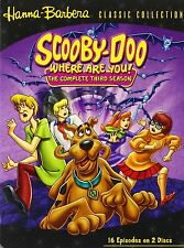 SCOOBY DOO : WHERE ARE YOU : SEASON 3   -  DVD - UK Compatible - sealed