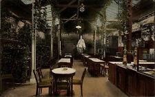 1917 Stempel Oberlichtenau a/ AK Frankenberg Sachsen Lokal Wintergarten Gasthaus