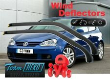 VW GOLF V  MK5  3D  2004 - 2009 Wind deflectors   HEKO  31151